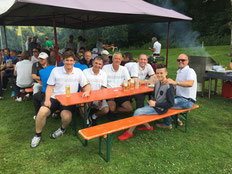Von links:Christoph Baldermann, Volker Brändle, Oliver Digel, Michael Maier und Barry Fogarty - © Brändle / Golfclub Reutlingen-Sonnenbühl e.V.