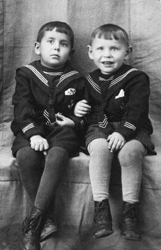 Братья Харис и Хафис Шахмаметьевы. 1953 г.