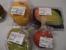 マンゴーの4種類を購入。