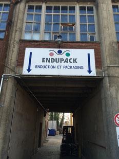 グリップシート輸入元 ENDUPACK(フランス)の会社外観