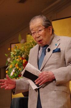 ▲都倉亮さん出版記念講演会(2012.7.3)