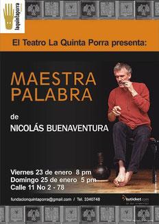 Palabra maestra Nicolás Buenaventura