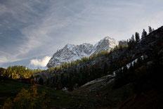 Lamsenspitze und Schafkarspitze