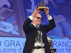 gianfranco rosi leone d'oro venezia
