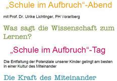 """Bild: Folder """"Schule im Aufbruch"""" bearbeitet spagra"""