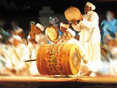 Festival national des arts d'Ahwach à Ouarzazate