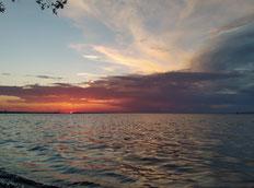 Sonnenuntergang Bodensee, auch morgen hast du die freie Wahl