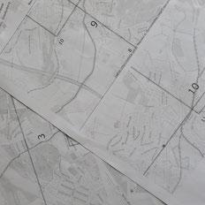 Landkarte Fahrradkarte naviki Ausdruck Route