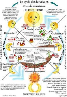 Cycle des lunaisons