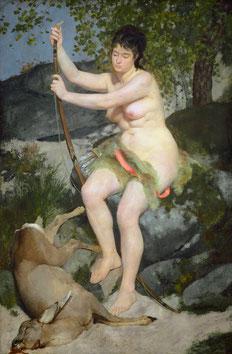 Diana als Jägerin