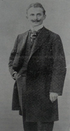 Otto Lange, 23 Jahre Vorsitzender