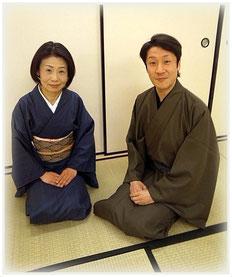 お優しい可笑先生と初紫乃先生