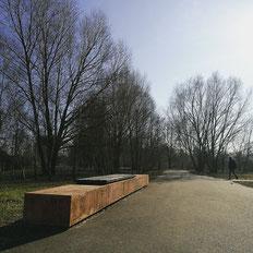 Neukölln: Skate spot at Dammweg
