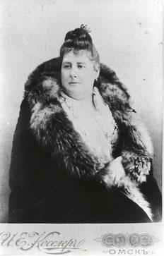 Julie Sophie Rosenplänter (neé Faltin), Omsk um 1880