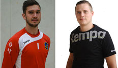 Niklas Weißbrod Tim Walter A-Jugend HSG VfR/Eintracht Wiesbaden Handball