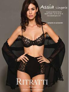 ASSIA lingerie sexy présente RITRATTI