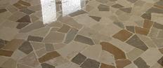 marmettoni pressati di cemento con scaglie di marmo