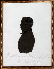 """Heinrich Faltin (3), ca. 1820 """"H. Faltin aus Danzig seinem Freund W. Fürbringer"""""""