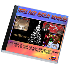 Triple pack musical Navideño