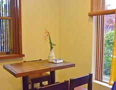 茶の子 店内の飲食スペース