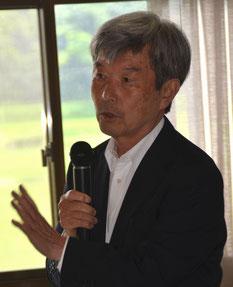 サマーセミナーでご講義中の今井先生