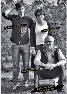 Weingut Dereser Team Hermann Dereser Gerda Dereser Johannes Dereser