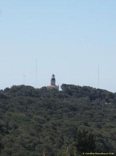 Le Phare du Cap d'Armes, situé à la pointe extrême sud, date de 1837.