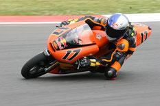 Stefan Bradl 2007 am Sachsenring in der 125er Klasse