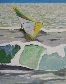 Surfer1, 2013, Öl auf Leinwand, 190 x 150 cm