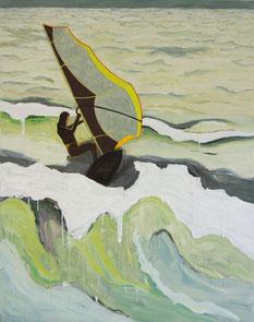 Surfer 2, 2013, Öl auf Leinwand, 190 x 150 cm