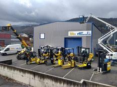 Location, vente et réparation de matériels de manutention et de levage en Savoie et Haute-Savoie