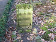 Grab des serbischen Kriegsgefangenen Unteroffizier Milan Miljanovic, gestorben am 26. Oktober 1943 in Groß Sterneberg. Foto: M. Quelle