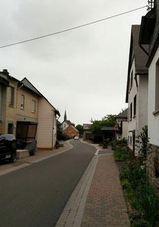 Bannhof, Blick in Richtung Ortsmitte 2016