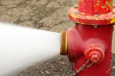 Idrante ricerca perdite su impianti antincendio con gas tracciante