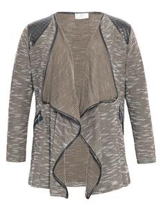 Damenjacke in großen Größen , elegante Übergangsjacke in Übergrößen
