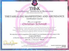 ThetaHealing Spezialkurs zur Manifestation von Wünschen