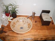 木製 手洗いボール