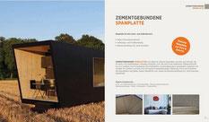 Zementgebundene Spanplatten Sortiment Hoerma GmbH