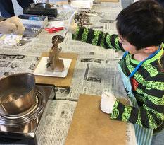 2018年 福島県南相馬市でのワークショップ!「錫で栞を作ろう」