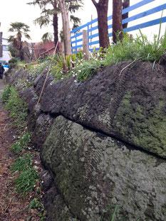 台場の石垣