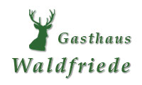 Gasthaus Waldfriede - Logo
