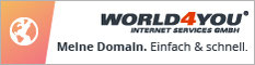 hosting, world4you, linz, oberösterreich, partnerprogramm, domain, website, speicher
