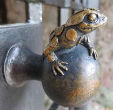 Türknauf im Schlosspark. Foto: Maike Petersen