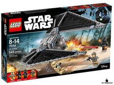 """Bei der Bestellung im Onlineshop der-Wegweiser erhalten Sie das Lego Paket 75154 """"Star Wars TIE Striker""""."""