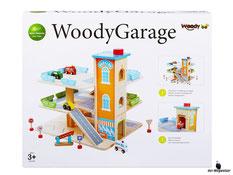 """Bei der Bestellung im Onlineshop der-Wegweiser erhalten Sie das Woody Paket """"Garage mit Zubehör""""."""