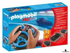 """Bei der Bestellung im Onlineshop der-Wegweiser erhalten Sie das Playmobil Paket 6914 """"RC Modul Set 2,4 GHz""""."""