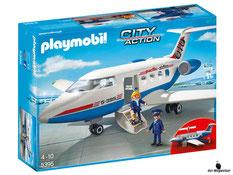 """Bei der Bestellung im Onlineshop der-Wegweiser erhalten Sie das Playmobil Paket 5395 """"Passagierflugzeug""""."""