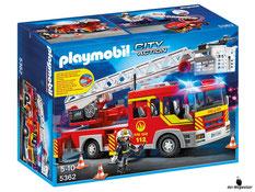 """Bei der Bestellung im Onlineshop der-Wegweiser erhalten Sie das Playmobil Paket 5362 """"Feuerwehr-Leiterfahrzeug mit Licht und Sound"""""""