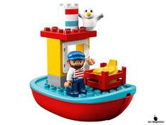 Die Besonderheiten im Lego Paket 10508 sind die funktionierende Kranwinde mit echtem Tank und dazu Zuggeräusche.