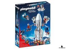 """Bei der Bestellung im Onlineshop der-Wegweiser erhalten Sie das Playmobil Paket 6195 """"Weltraumrakete mit Basisstation""""."""